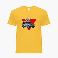Дитяча футболка для хлопчиків блогер Влад Папір А4 (blogger Vlad A4) (25186-2618) Жовтий, фото 1