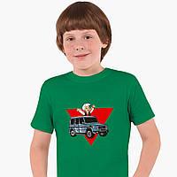 Детская футболка для мальчиков блогер Влад Бумага А4 (blogger Vlad A4) (25186-2618) Зеленый , фото 1