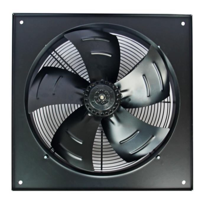 Осевой промышленный вентилятор Турбовент Сигма 800 B/S с фланцем
