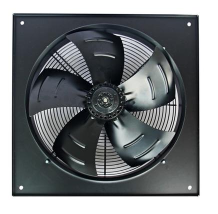 Осевой промышленный вентилятор Турбовент Сигма 800 B/S с фланцем, фото 2