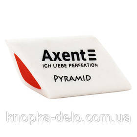 Ластик 1187-А из термопластичной резины. Трехгранная форма. Штрих-код на ластике. Упаковка: картонный дисплей.