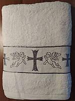 Крыжма махра для крестин ребёнка.