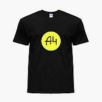 Дитяча футболка для хлопчиків блогер Влад Папір А4 (blogger Vlad A4) (25186-2620) Чорний, фото 1