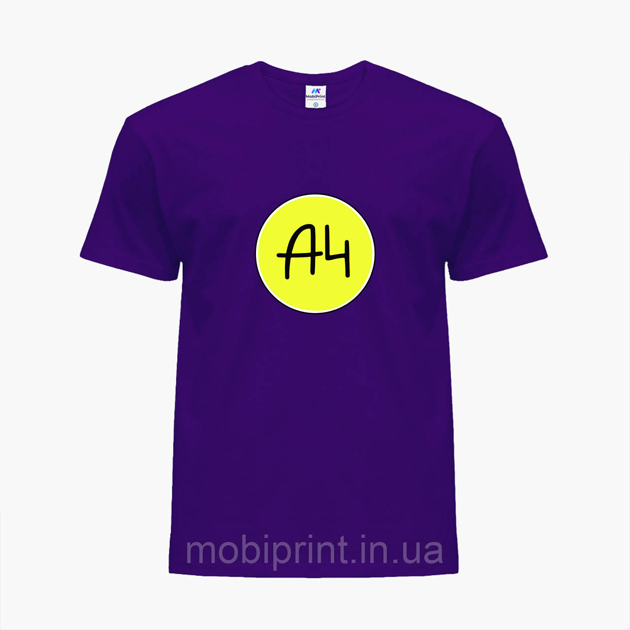 Детская футболка для мальчиков блогер Влад Бумага А4 (blogger Vlad A4) (25186-2620) Фиолетовый