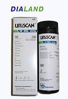 Полоски для анализа мочи Урискан (Uriscan) U39 10 SGL показателей