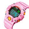 Skmei 1484 розовые спортивные детские часы, фото 2