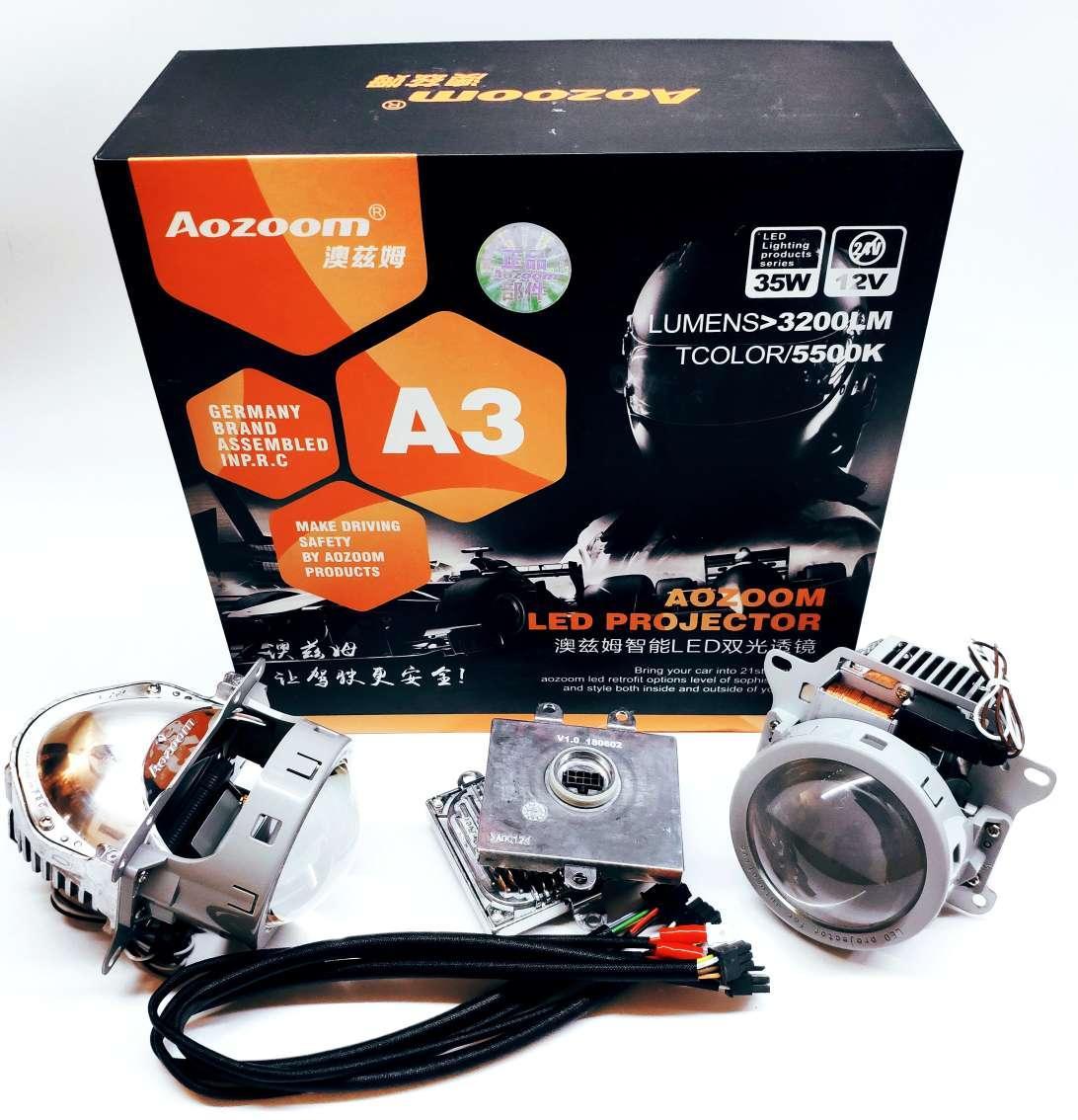Лінзи Bi-LED Aozoom А3 3,0 дюйма 35Вт 12В 5500К
