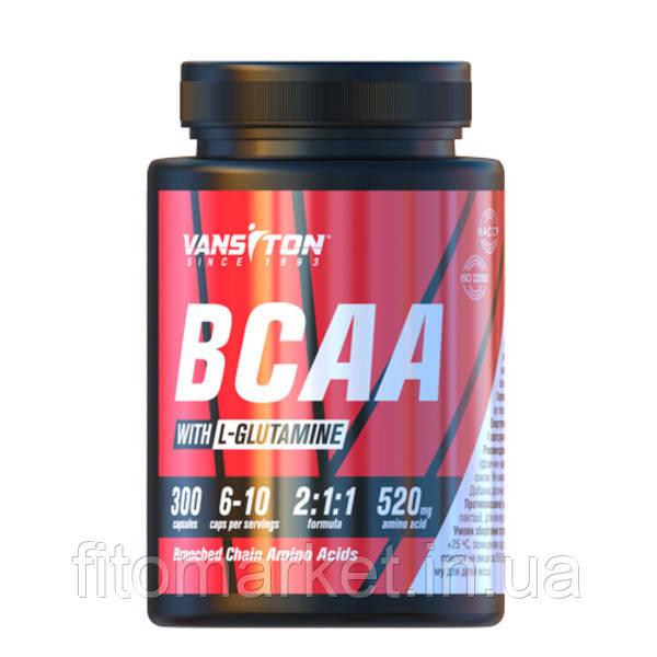 BCAA капсулы №300 ТМ Ванситон / Vansiton