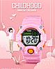 Skmei 1484 розовые спортивные детские часы, фото 10