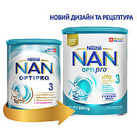Сухая молочная смесь NAN 3 OPTIPRO для детей с 12 месяцев, 800 г