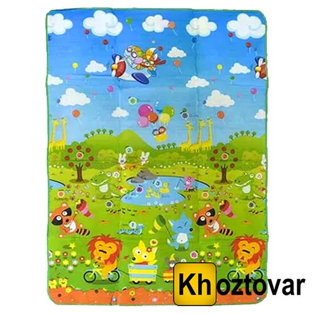 Детский двухсторонний коврик для игр С 36555