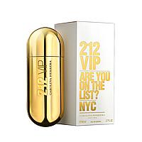 Жіноча парфумована вода Carolina Herrera 212 Vip Gold, фото 1