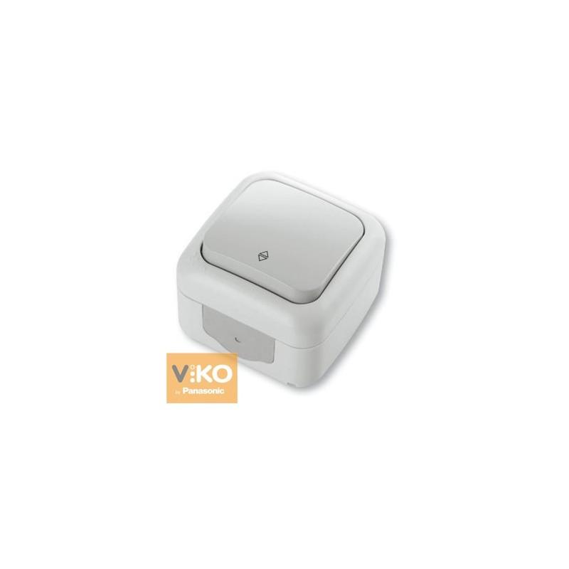 Выключатель влагозащитный проходной VIKO Palmiye - Белый