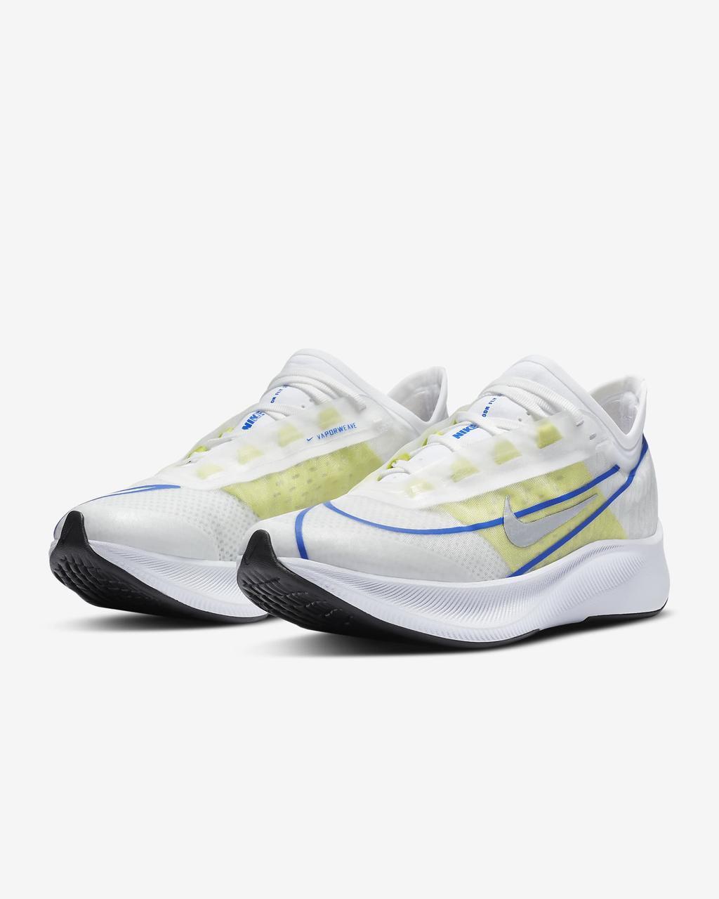 Кроссовки женские Nike Zoom Fly 3 AT8241-104 Белый 36