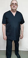 Костюм хирурга мужской рубашечная ткань короткий рукав