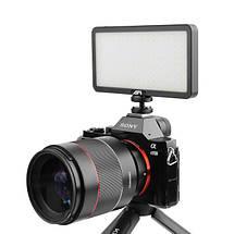 Видеосвет, LED панель AFI LR-21 3000-6500K з вбудованим акумулятором, можливість роботи як Power Bank, фото 3