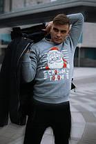 Свитшот мужской зимний новогодний, фото 3