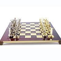"Шахматы,дискобол ""Manopoulos"", ""Геркулес и полубоги Олимпа"" 36х36см, фото 1"