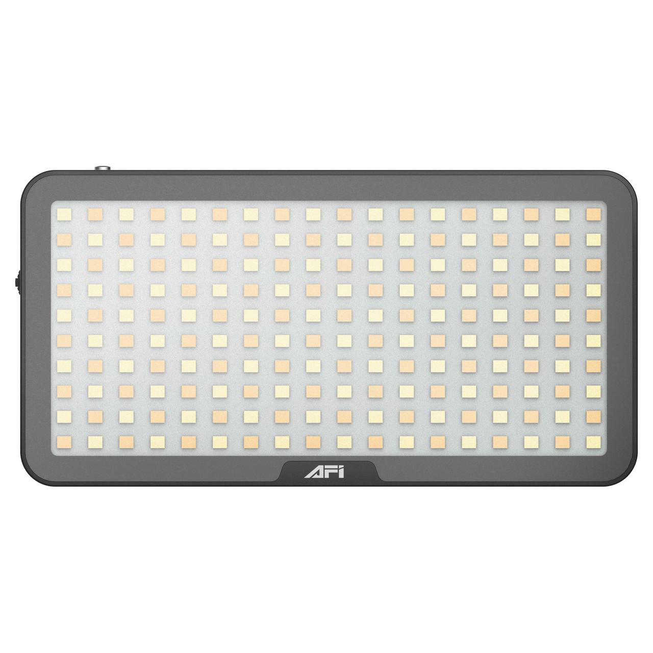 Видеосвет, LED панель AFI LR-21 3000-6500K з вбудованим акумулятором, можливість роботи як Power Bank