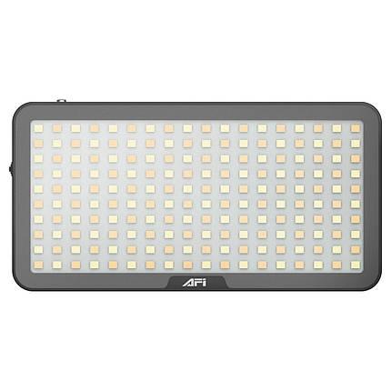 Видеосвет, LED панель AFI LR-21 3000-6500K з вбудованим акумулятором, можливість роботи як Power Bank, фото 2