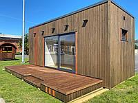 Модульное здание, каркас быстровозводимого модульного домика, контейнер под магазин, офис, дом.