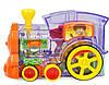 Детская игрушка паровозик с домино DOMINO Happy Truck 100 деталей / Поезд домино, фото 3