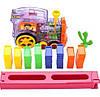 Детская игрушка паровозик с домино DOMINO Happy Truck 100 деталей / Поезд домино, фото 9