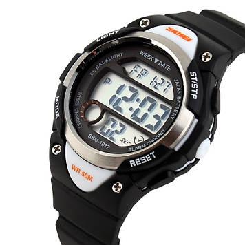 Детские спортивные часы Skmei 1077 черные