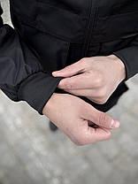 """Мужская весенняя куртка, ветровка черная Intruder """"Sprinter"""", фото 2"""