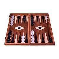 """Нарды+шахматы """"Manopoulos"""" из красного дерева 48х25см, фото 1"""