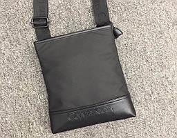 Мужская сумка мессенджер Calvin Klein черного цвета СУ-028