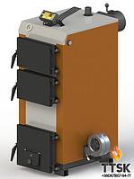 Твердотопливный котел KOTLANT КГ-30 с электронной автоматикой и вентилятором