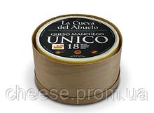 Сыр овечий Манчего Юнико 18 мес 50% 3кг La Cueva del Abuelo