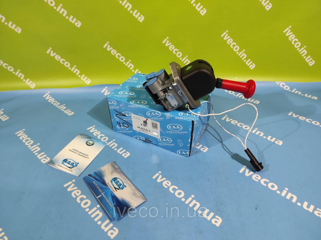 Кран ручника кран стояночного тормоза Iveco Stralis Trakker EuroCargo 41211127 500303741 DPM95AAX 98405732