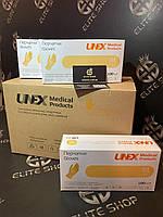 Латексная перчатки хорошего качества 100 шт/уп