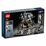 Конструктор LEGO Creator Expert Лунный модуль корабля Апполон 11 НАСА 1087, фото 8
