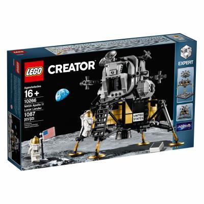 Конструктор LEGO Creator Expert Лунный модуль корабля Апполон 11 НАСА 1087