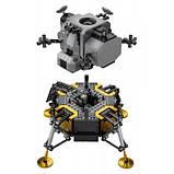 Конструктор LEGO Creator Expert Лунный модуль корабля Апполон 11 НАСА 1087, фото 3