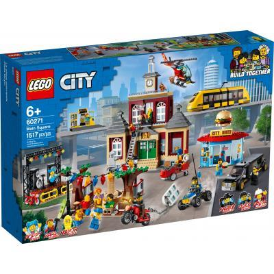 Конструктор LEGO City Міська площа 1517 деталей