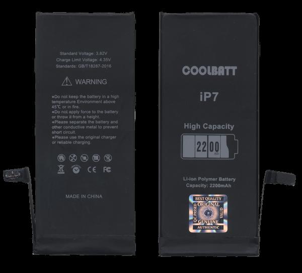 Батарея CoolBatt для iPhone 7 усиленная (2200 mAh)
