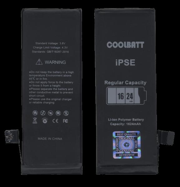 Батарея CoolBatt для iPhone SE / iPhone 5SE (1624mAh) A++