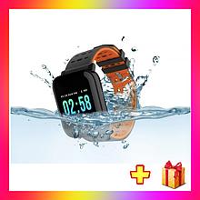 Фітнес браслет A6 пульсометр тонометр Смарт годинник Браслет здоров'я + подарунок