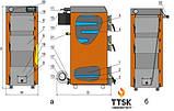 Твердотопливный котел KOTLANT КГ-40 с электронной автоматикой и вентилятором, фото 2