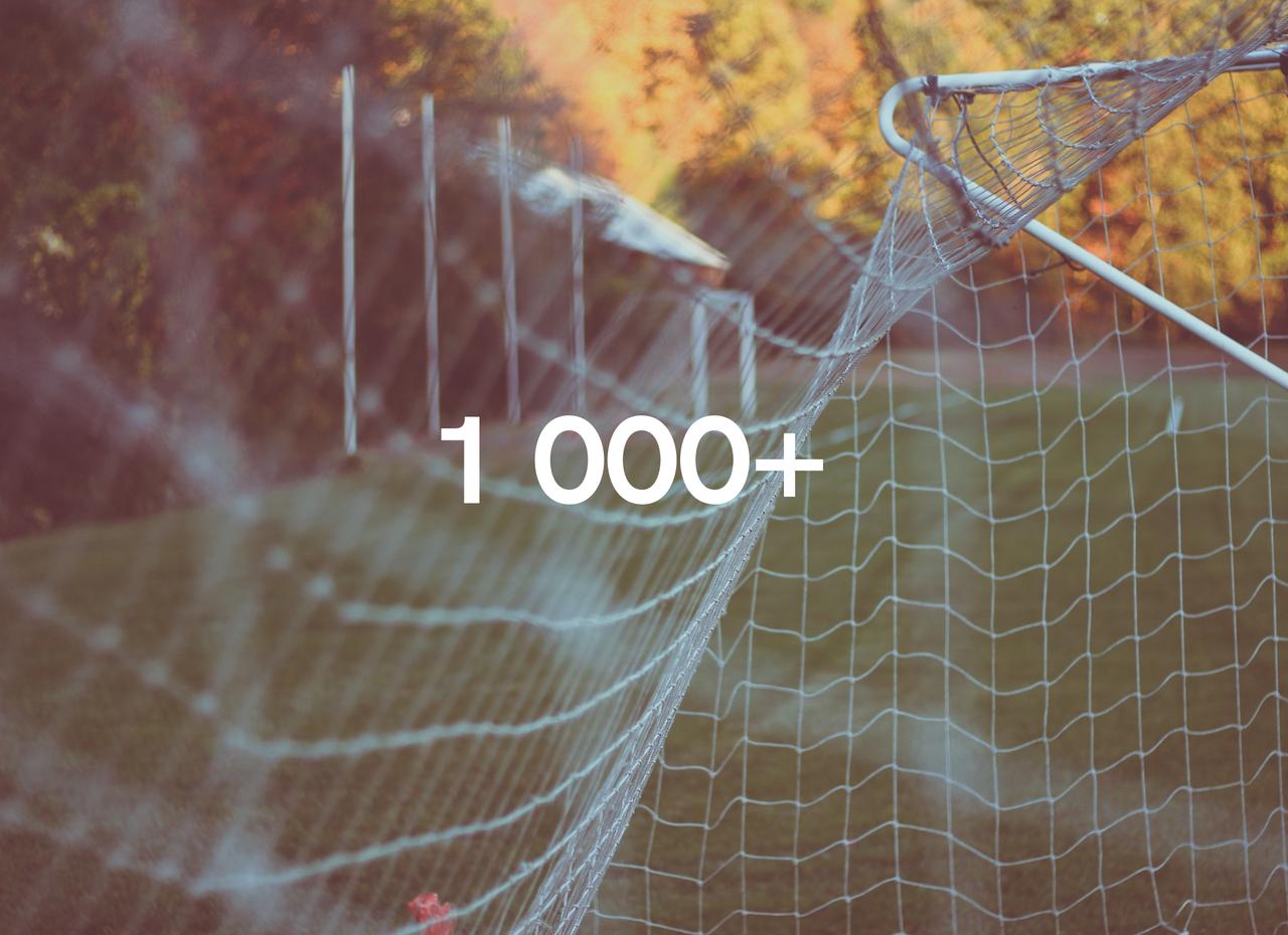 1000+ отзывов на нашем сайте!