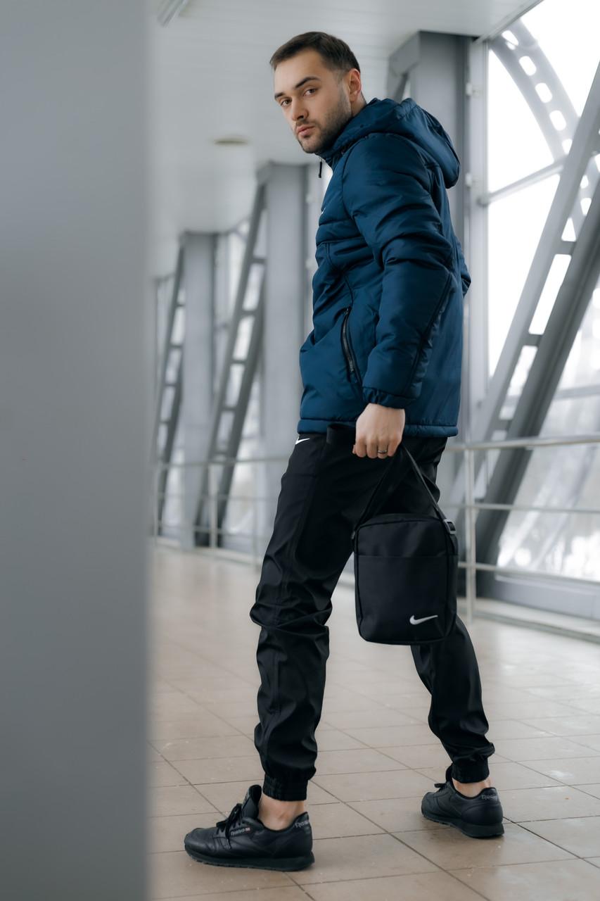 Ветровка Анорак Найк, Nike + Штаны + подарок Барсетка