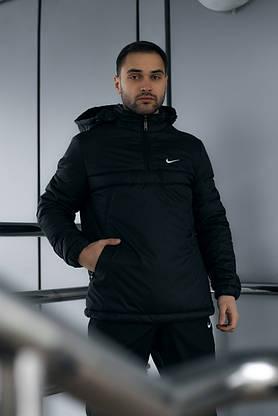 Ветровка Анорак Найк, Nike + Штаны President  + подарок Барсетка, фото 3