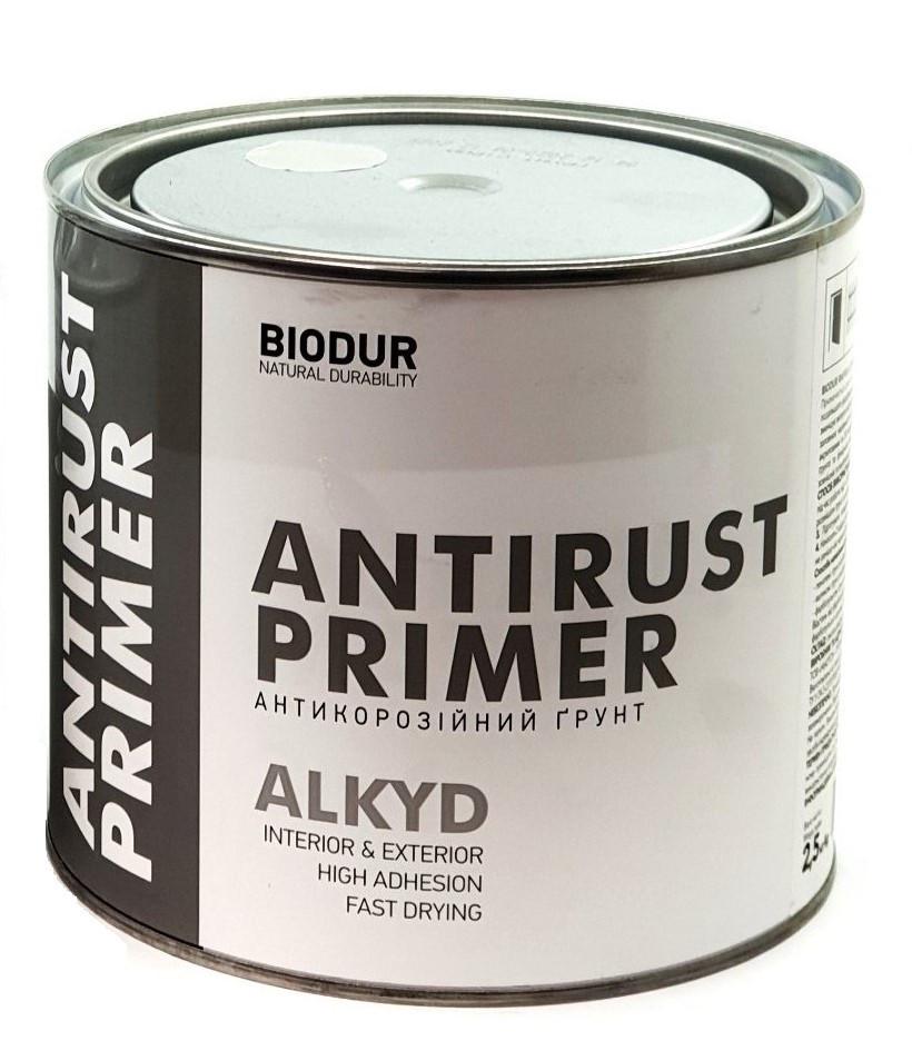 Грунт антикоррозийный серый Biodur 2,5кг
