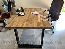 Письменный стол в стиле Лофт с дерева Дуб