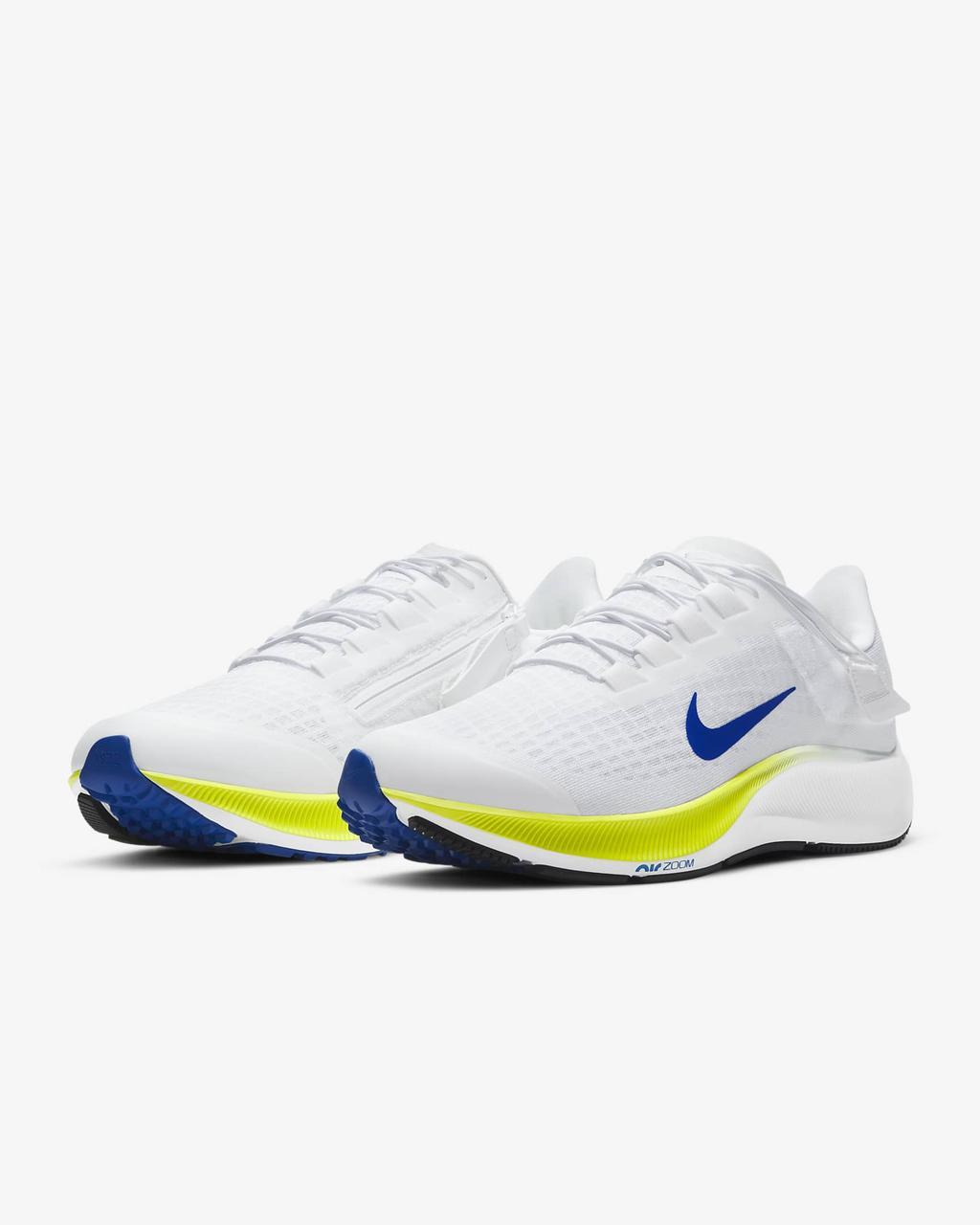 Кросівки чоловічі Nike Air Zoom Pegasus 37 FlyEase men's Running CK8474-102 Білий