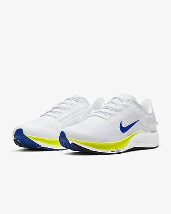Кросівки чоловічі Nike Air Zoom Pegasus 37 FlyEase men's Running CK8474-102 Білий, фото 2